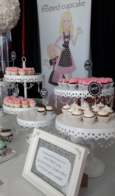 I wanted to give a shout out to a local cupcake shop, The Frosted Cupcake. They were so busy that we didn't have a chance to chat with them, but their display looked scrumptious! http://thefrostedcupcake.ca