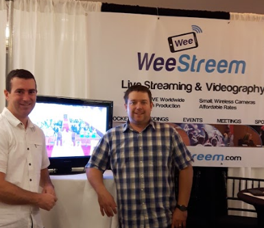 If you have friends and family located far away who can't attend your wedding, consider live streaming from WeeStream! weestreem.com