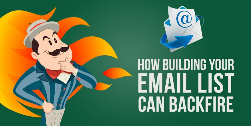 """Why """"Build Your Email List"""" Might Be the Wrong Advice"""