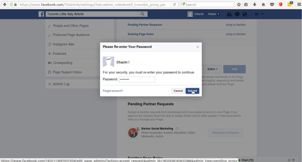 How to Accept an Administrator Request to Facebook Pages