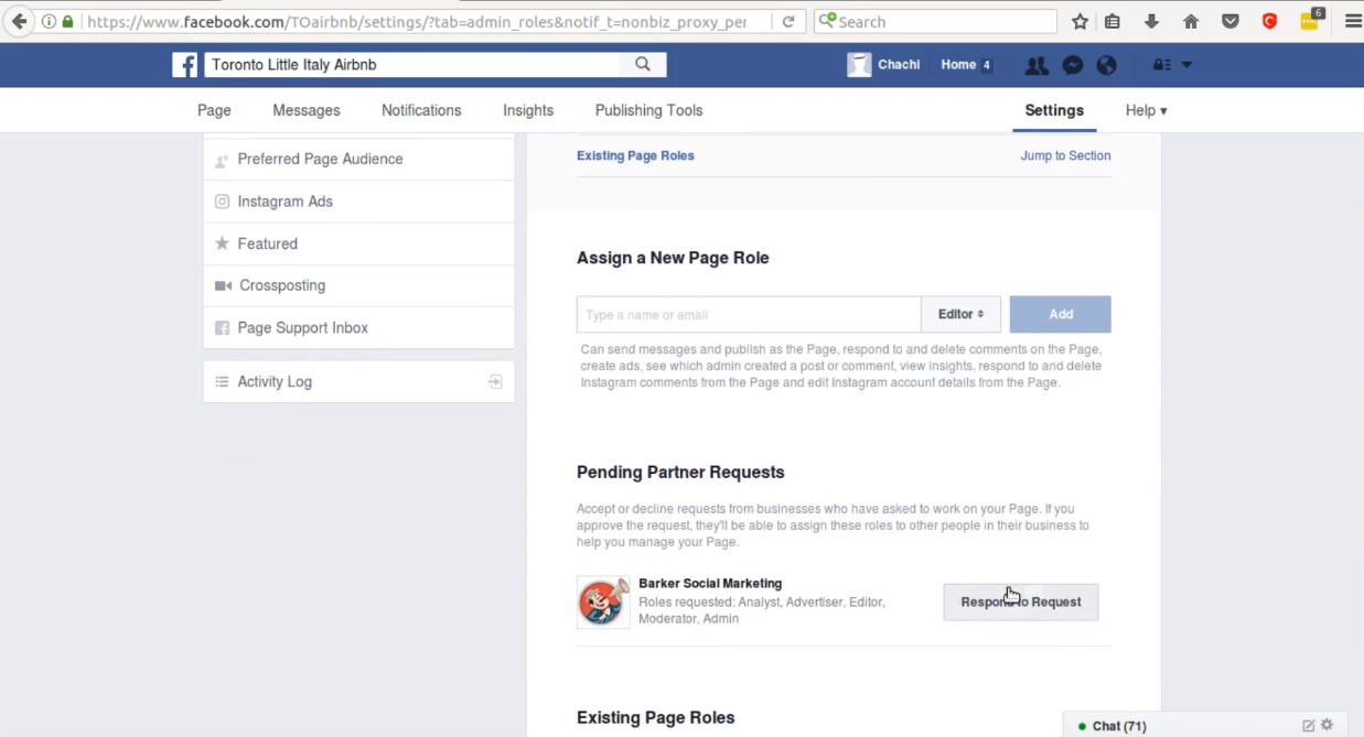 How to Accept an Administrator Request to Facebook Pages - Barker