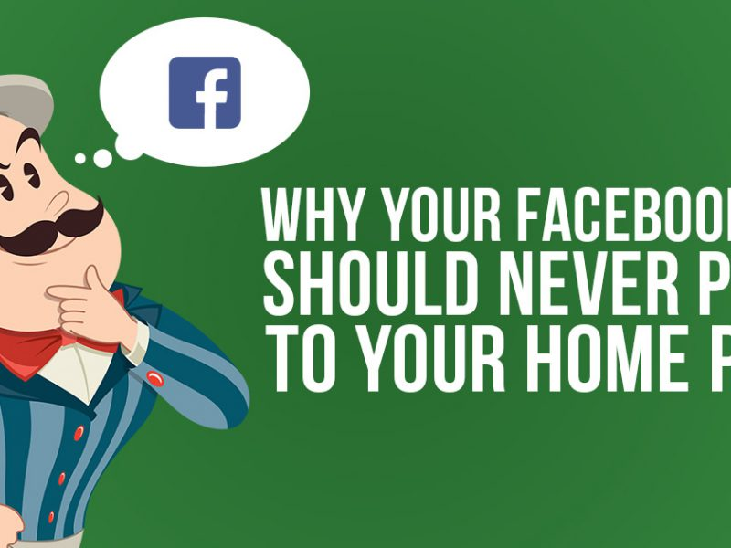 Why Your Facebook Ads Should Never Point to Your Home Page