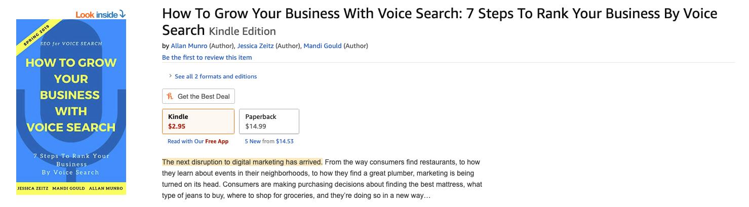Voice Search eBook